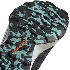 adidas TERREX Speed Flow Trail Running Shoes Women, core black/crystal white/acid mint